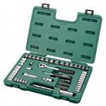 Универсальный набор инструмента,  65пр. Головки, биты с принадлеж. (Metric & S.A.E) пласт.кор.