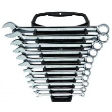 Набор ключей,  11пр. Комбинированные (S.A.E.) пласт.блист.