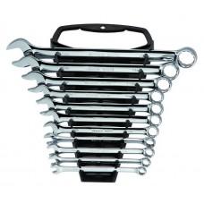 Набор ключей,  11пр. Комбинированные (Metric) пласт.блист.