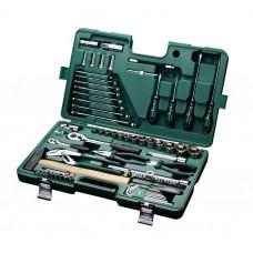 Универсальный набор инструмента, 80пр. Универсальный (Metric) пласт.кейс
